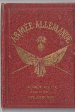 "Booklet ""Armée Allemande"" from the 1870's"
