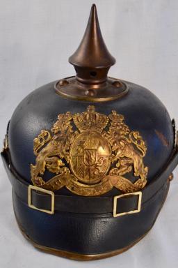 """Bavarian """"Eigenthums Helm"""" - Infantry Pickelhaube"""