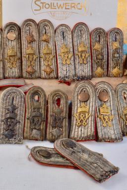 Box of Epaulets -same Provenance- Bavarian Inf. Regt. #6