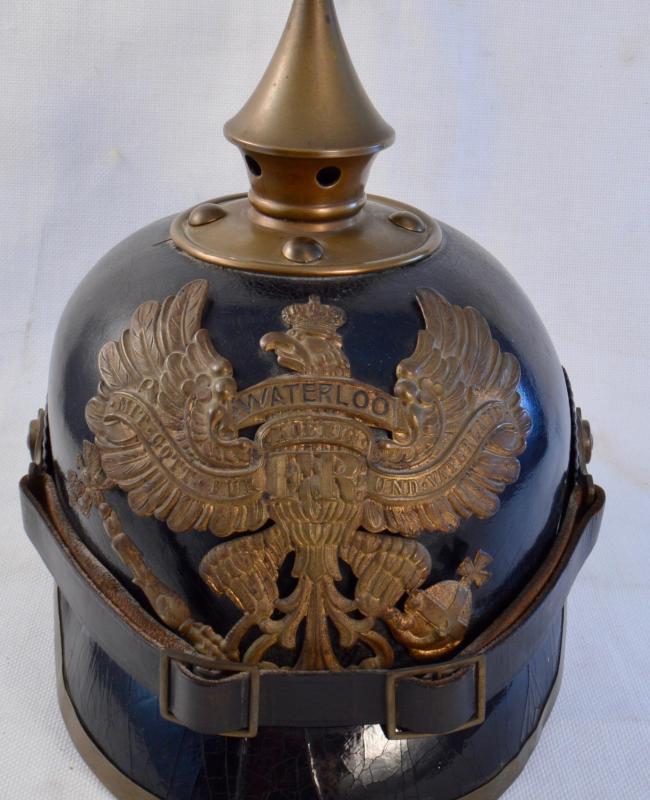 "Prussian Hanoverian ""Waterloo"" Enlisted Pickelhaube"