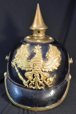 Prussian 73rd Infantry Fusilier Regiment NCO Pickelhaube - Pre 1899