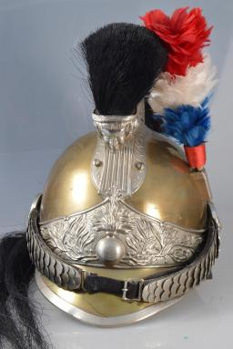"French ""Gendarme à Cheval"" Enlisted Cavalry Helmet"