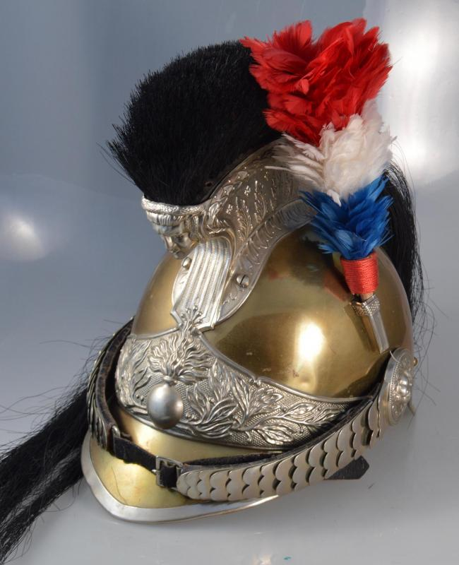 """French """"Gendarme à Cheval"""" Enlisted Cavalry Helmet"""