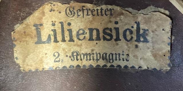 """Prussian NCO School """"UnterOffizierSchule"""" Enlisted Pickelhaube"""
